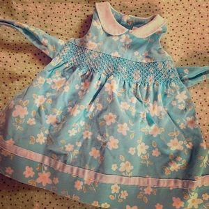 Girls dress size 6-9 months